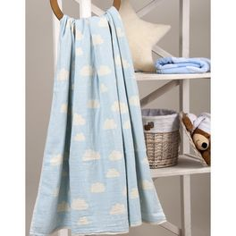 Плед Barine 130x170 CLOUD THROW BLUE