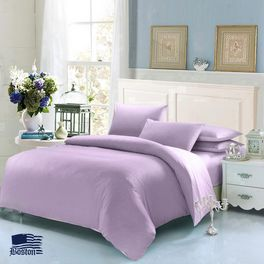 Постельное белье Jefferson Sateen Lilac 160x220 Boston textile