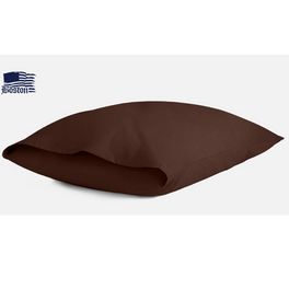 Наволочка Jefferson Sateen Dark Chocolate 70х70 Boston textile