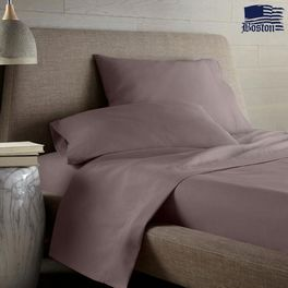 Простынь Jefferson Sateen Cacao 143х215 Boston textile